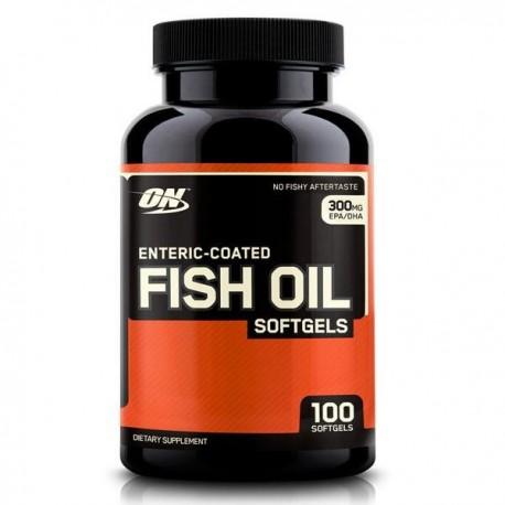 Optimum Nutrition Enteric-Coated Fish Oil (100 капс.)