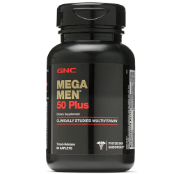 GNC MEGA MEN 50+ (60 таб.)