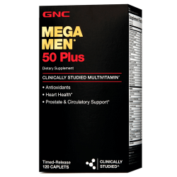 GNC MEGA MEN 50+ (120 таб.)