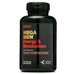 GNC Mega Men Energy & Metabolism (90 таб.)