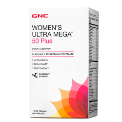GNC Women's Ultra Mega 50 Plus (60 таб.)