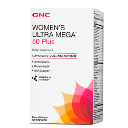 GNC Women's Ultra Mega 50 Plus (120 таб.)