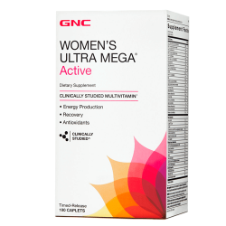 GNC Women's Ultra Mega Active (180 таб.)