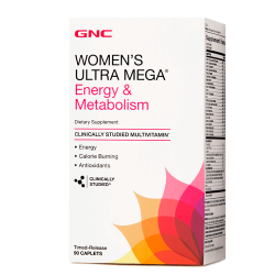 GNC Women's Ultra Mega Energy & Metabolism (90 таб.)