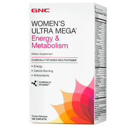 GNC Women's Ultra Mega Energy & Metabolism (180 таб.)