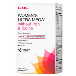 GNC Women's Ultra Mega without iron (90 таб.)