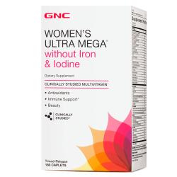 GNC Women's Ultra Mega without iron (180 таб.)