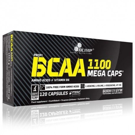 BCAA mega caps 1100 Olimp (120 капс.)