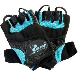 Перчатки Olimp Hardcore Fitness Star (голубые)