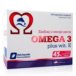 Olimp Omega 3 plus with. E 45% (120 капс.)