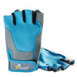 Перчатки Olimp Hardcore Fitness ONE (Blue)