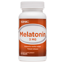GNC Melatonin 3 мг (60 таб.)