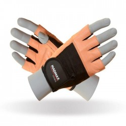 MadMax Gloves Fitness MGF-444 Brown/black