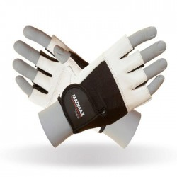 MadMax Gloves Fitness MGF-444 White/black
