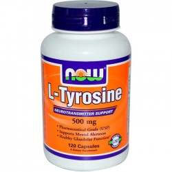NOW Foods L-Tyrosine 500 mg (120 капс.)