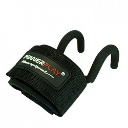 PowerPlay Weight Lifting Hooks 7060 Black
