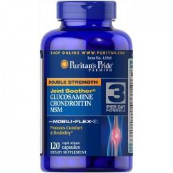 Puritan's Pride Glucosamine Chondroitine Msm (120 табл.)