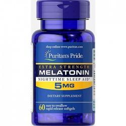 Puritan's Pride Melatonin 5 мг (60 капс.)