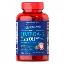 Puritan's Pride Omega-3 Fish Oil 1000 мг (100 капс.)