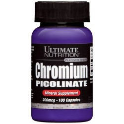 Ultimate Nutrition Chromium picolinate (100 капс.)