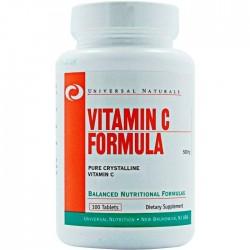 Universal Nutrition Vitamin C 500 мг (100 таб.)