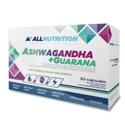 Allnutrition Ashwaganda + Guarana (30 капс.)