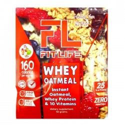 Фитнес овсянка FitLife Whey Oatmeal (50 гр.)