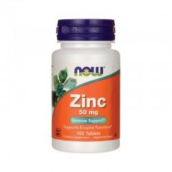 Now Food's Zinc 50 мг (100 таб.)