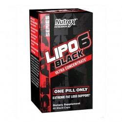 Nutrex Lipo-6 Black Ultra Concentrate (60 капc.)