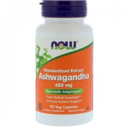 Now Ashwagandha 450 мг (90 вег. капс)