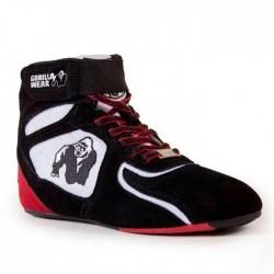 Кроссовки Gorilla Wear Chicago High Tops Black/White/Red