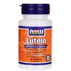 Now Foods Lutein 10 мг (60 капс.)