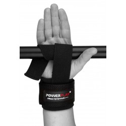 Лямки для тяги Power Play c валиком, черные