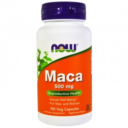 Now Food's Maca 500 мг (100 вег. капсул)