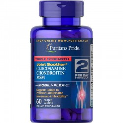 Puritan's Pride Triple Strength Glucosamine Chondroitin MSM (60 капс.)