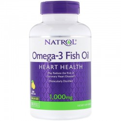 Natrol Omega-3 Fish Oil 1000 мг (90 капс.)