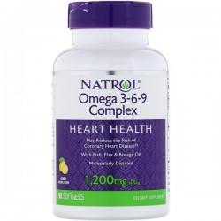 Natrol Omega 3-6-9 Complex 1.200 мг (90 капс.)
