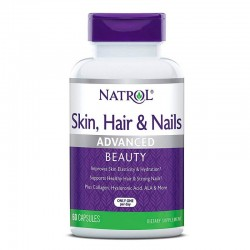 Natrol Skin, Hair & Nails (60 капс.)