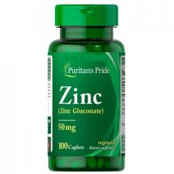 Zinc Gluconate 50 мг (100 капс.)