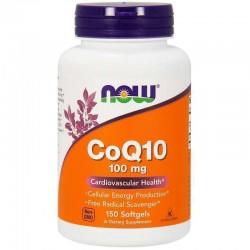 Now Foods, Коэнзим CoQ10, 100 мг, 150 капсул