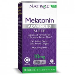 Natrol Melatonin Advanced Sleep 10 мг (60 таб.)
