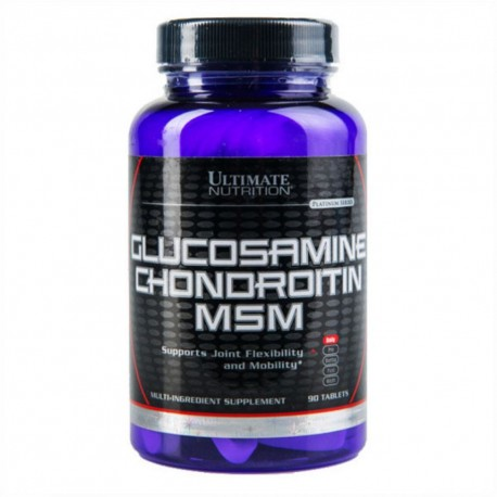 Glucosamine Chondroitin MSM Ultimate Nutrition (90 таб.)