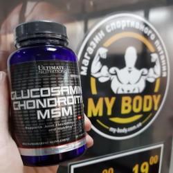 Глюкозамин Хондроитин Мсм 90 таблеток, Ultimate Nutrition