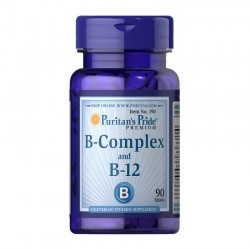 Puritan's Pride B-Complex and B-12 (таб.)