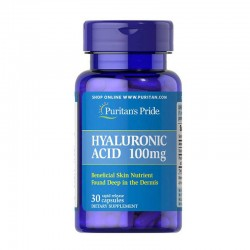 Puritan's Pride Hyaluronic Acid 100 мг (30 капс.)
