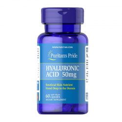 Puritan's Pride Hyaluronic Acid 50 мг (60 капсул)