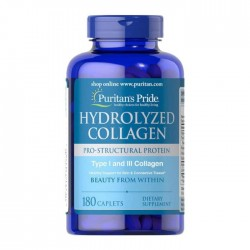 Hydrolyzed Collagen Pro - Structural Protein Type 1 and 3 Collagen (180 капс.)