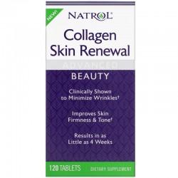 Natrol Collagen Skin Renewal (120 таб.)