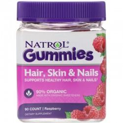 Natrol Hair, Skin & Nails Gummies (90 жев. табл)