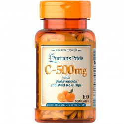 Vitamin C-500 mg with Bioflavonoids and Wild Rose Hips (100 таб.)